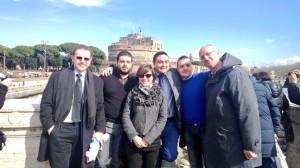 La delegazione Vogherese al termine del congresso Nazionale UDC