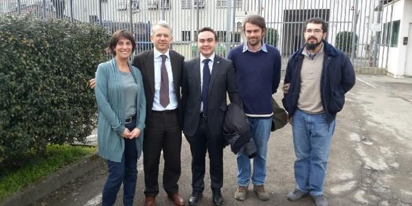 Il Sottosegretario di Stato al Ministero della Giustizia Dott. Cosimo Ferri in visita alla Casa Circondariale di Voghera
