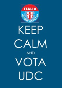 KEEP KALM & VOTE UDC