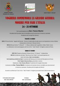 Il manifesto dell'evento organizzato dal Presidente del Consiglio Nicola Affronti