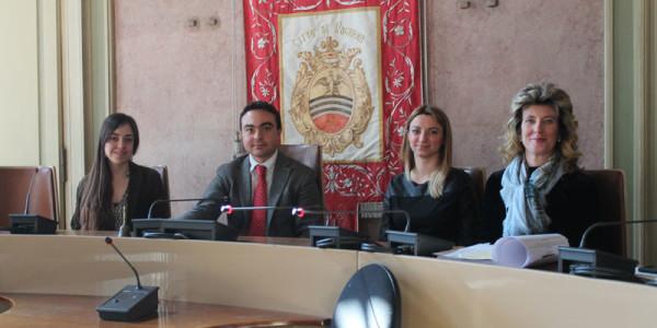 Distretto del Commercio – presentati dal Presidente Affronti e dall'Assessore Battistella i corsi sui social media