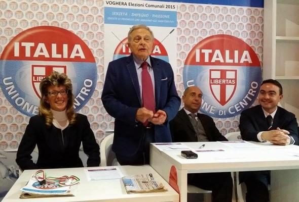 UDC – Inaugurata la sede elettorale in Piazza Duomo 81 a Voghera