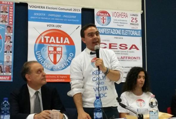 """Nicola Affronti (UDC) intervistato da """"IL PERIODICO"""" per il numero di Dicembre: """"SIAMO FAVOREVOLI AL RIPRISTINO DELLE ISOLE ECOLOGICHE"""""""