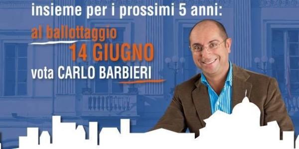 #Voghera : domenica 14 al ballottaggio vota Carlo BARBIERI