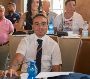 il Presidente Nicola Affronti con il Capogruppo UDC Elisa Piombini e la Vice Capogruppo Daniela Galloni