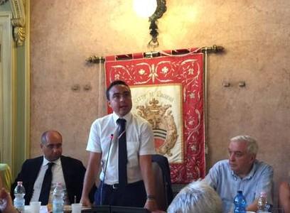 Nicola Affronti rieletto Presidente del Consiglio nella prima seduta con i 2/3 dei voti