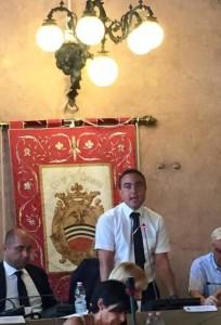 Il  Presidente NICOLA AFFRONTI