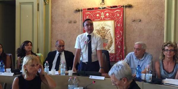 Il Discorso di Insediamento del Presidente del Consiglio Nicola Affronti