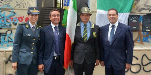 Il Presidente Nicola Affronti è intervenuto all'inaugurazione della nuova sede dell'ANFI (Associazione Nazionale Finanzieri Italiani)