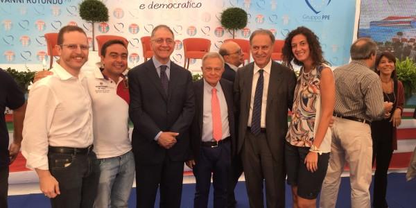 La delegazione oltrepadana UDC alla festa Nazionale di San Giovanni Rotondo
