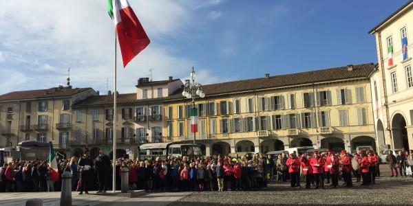 A Voghera le celebrazioni del 4 Novembre: Intervento del Presidente del Consiglio Nicola Affronti