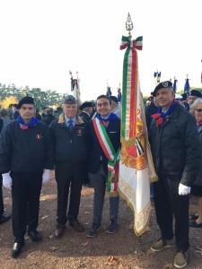 una parte della delegazione Vogherese  a Lione
