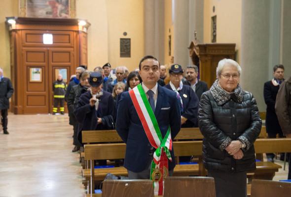 """Celebrata la """"Virgo Fidelis"""" patrona dei Carabinieri. Il Presidente Affronti è intervenuto in rappresentanza del Comune"""