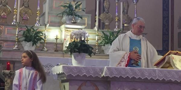 Affronti: con I fedeli di Oriolo abbiam salutato Mons Balladore