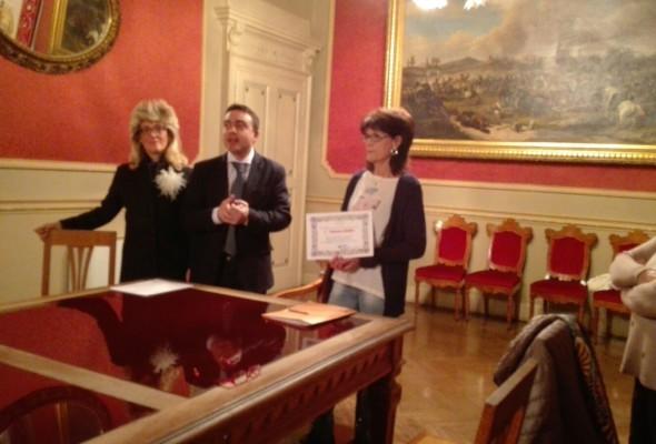 In occasione della Festa della Donna consegnato ad Eleonora Giudici il Premio Montessori