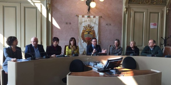 conferenza stampa di presentazione dei Vincitori del concorso di Poesia con il Presidente Nicola Affronti