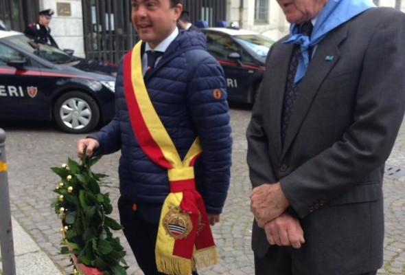 25 Aprile – a Voghera la tradizionale cerimonia con la deposizione delle corone, la messa ed il corteo