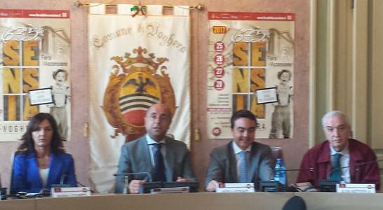 635° Fiera dell'Ascensione – conferenza stampa con il Sindaco ed il Presidente Affronti