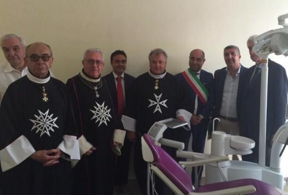 ASP PEZZANI – Il Presidente Affronti all'inaugurazione del presidio odontoiatrico donato dal Rotary