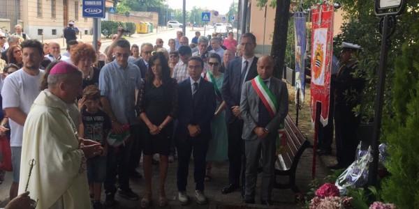 Voghera ricorda le vittime dell'attentato di Nizza dell'anno scorso e gli intitola un giardino