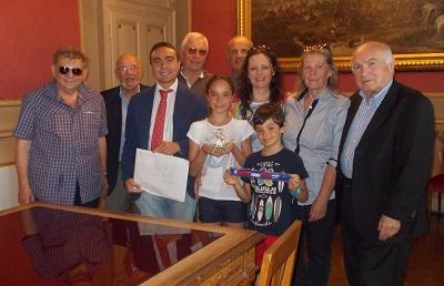 Concorso di Poesia: il Presidente Affronti premia Sara Chiappini studentessa di Frosinone