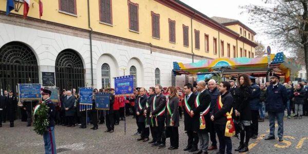 Voghera ha festeggiato San Martino Patrono della Fanteria e reso maggio nel 14° anniversario dell'attentato ai caduti di Nassyria