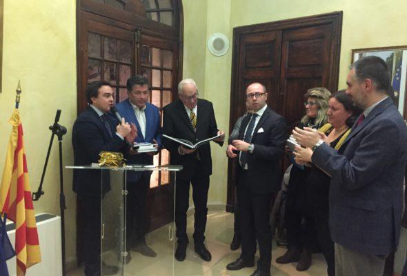 a Manosque la delegazione Vogherese guidata dal Presidente Nicola Affronti