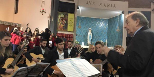 Il Presidente Affronti ha partecipato nella chiesa di Pombio al tradizionale concerto della Chitarrorchestra