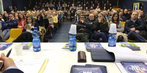 UDC un successo (con oltre 250 persone)la manifestazione elettorale a Voghera – VOTA NOI CON ITALIA UDC