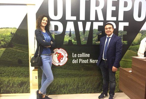 VINITALY 2018 – Il Presidente Affronti a Verona in visita al padiglione Oltrepò