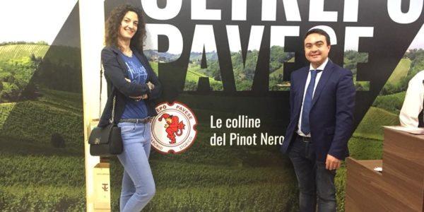 VINITALY 2018 – Il Presidente Affronti a Verona in visita all'Oltrepò