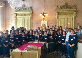 Gli Studenti dell'IC Via Dante ricevuti dal Presidente Affronti e dall'Assessore Battistella