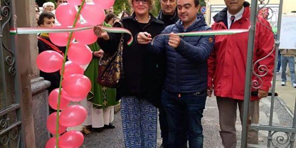 Festa della Castagna a Medassino, messa ed inaugurazione con il Presidente Affronti