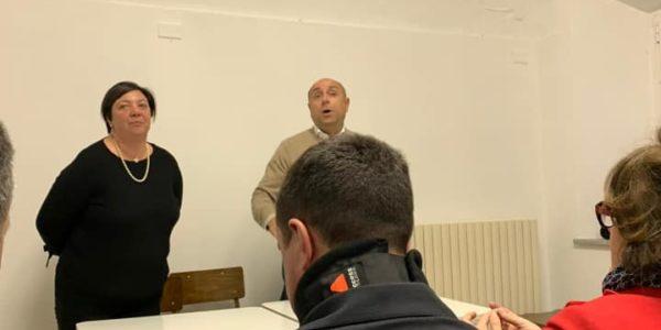 il comune incontra i cittadini di Oriolo introduce il consigliere UDC Daniela Galloni