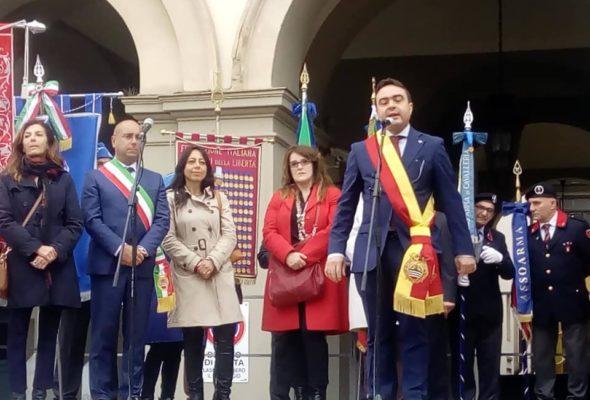 25 APRILE – le celebrazioni in Città con il prof Balduzzi, Sindaco e Presidente Affronti