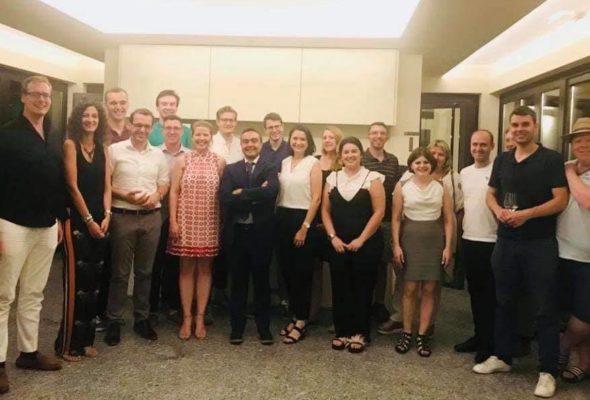Il Presidente Affronti incontra i giovani della CDU Tedesca