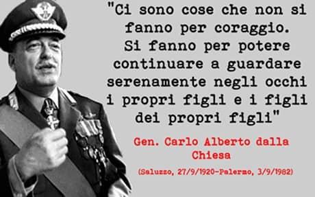 3 Settembre 1982 – 3 Settembre 2019: Il Presidente Affronti ricorda il generale Dalla Chiesa