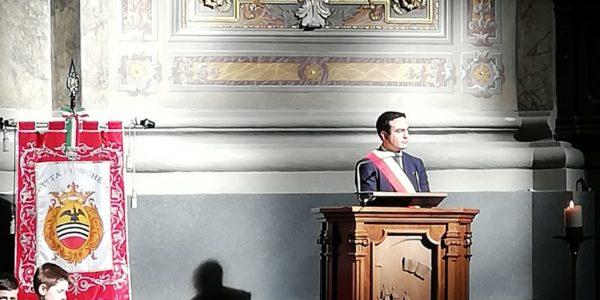 4 Novembre Il Presidente Affronti interviene alla Cerimonia cittadina e depone le corone ai caduti