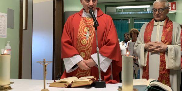 Messa di San Biagio in Ospedale con il Vescovo – presente il Presidente Affronti