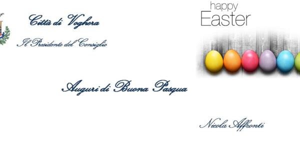 Il Presidente Affronti Augura Buona Pasqua
