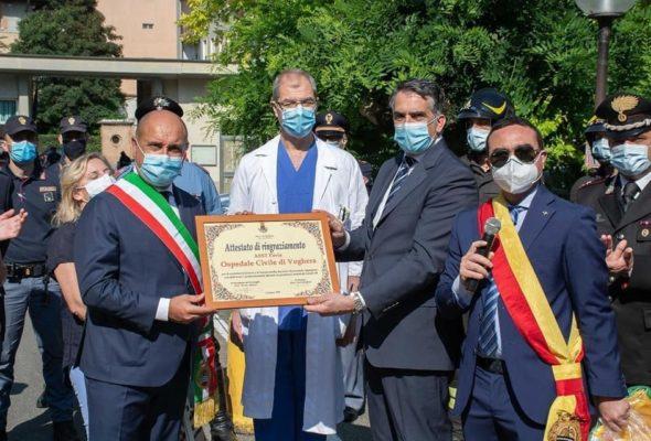 La Festa della Repubblica dedicata ai dipendenti dell'Ospedale – la scelta del Comune di Voghera, su iniziativa del Presidente Affronti per dire grazie