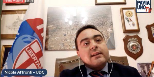 Pavia 1 Tv intervista Nicola Affronti (Capogruppo UDC Comune di Voghera e Provincia di Pavia)