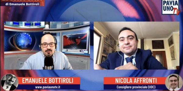 "Nicola Affronti ospite a ""La Voce Pavese"" su Pavia Uno TV"